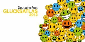 Glücksatlas 2012, Quelle: Deutsche Post