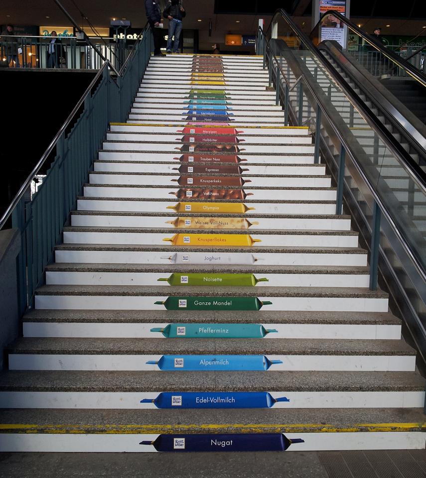 Treppe Hamburg die treppe ein ort für kreative werbung mediaanalyzer