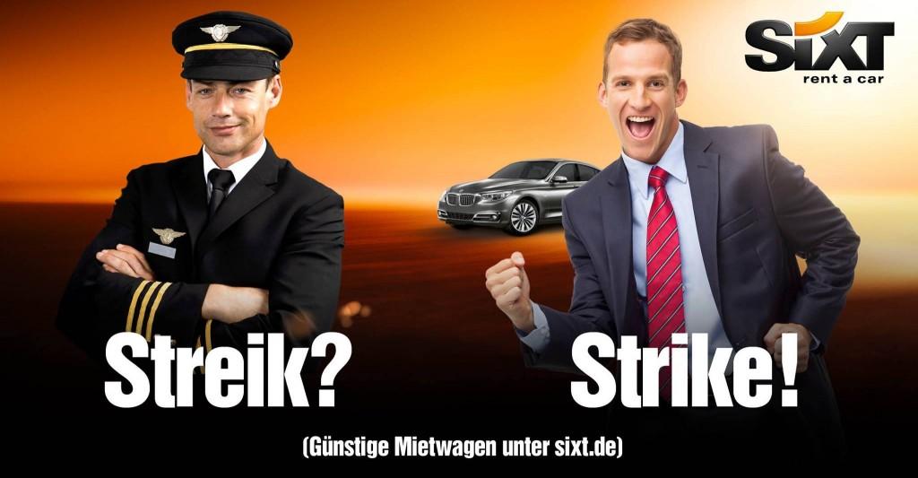 Sixt: Streik? Strike!