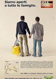 Anzeige von IKEA (Italien)