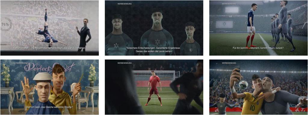 """Szenen aus dem aktuellen Nike-Spot """"Risk Everything"""""""