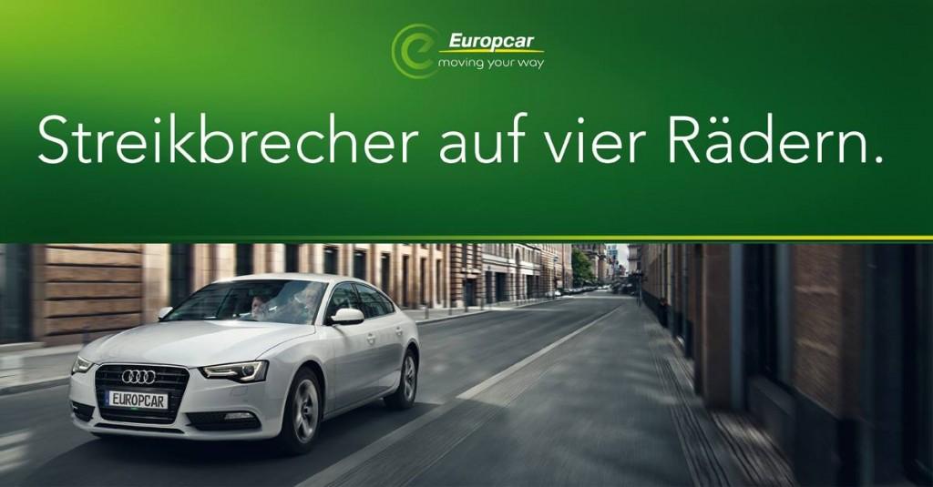Europcar: Streikbrecher auf vier Rädern